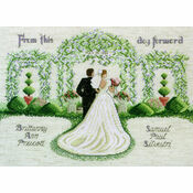 From This Day Forward Cross Stitch Kit