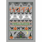 Happy Halloween Cross Stitch Kit