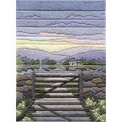 Spring Evening Long Stitch Kit