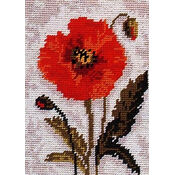 Poppy Beginners Tapestry Kit