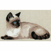 Thai Cat Cross Stitch Kit