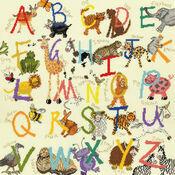 Animal Alphabet Cross Stitch Kit