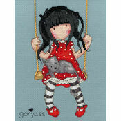 Gorjuss Ruby Cross Stitch Kit