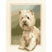 Westie Cross Stitch Kit