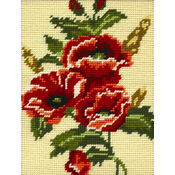 Poppy Flowers Beginners Tapestry Kit