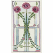 Rose Bouquet Cross Stitch Kit