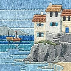 Headland Cottages Long Stitch Kit
