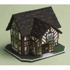 The Castle Inn 3D Cross Stitch Kit