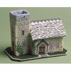 The Church 3D Cross Stitch Kit