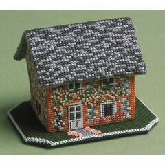 Keepers Cottage 3D Cross Stitch Kit