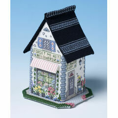 The Flower Shop 3D Cross Stitch Kit
