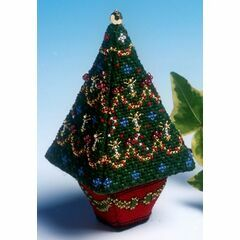 Small Christmas Tree 3D Cross Stitch Kit