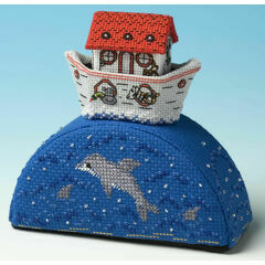 Noah's Ark Paperweight 3D Cross Stitch Kit