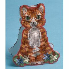 Stand-Up Cat Card 3D Cross Stitch Kit
