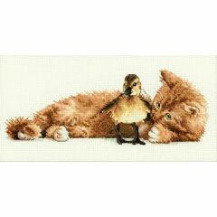 Furry Friends Cross Stitch Kit
