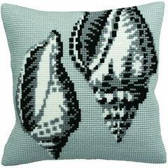 Periwinkle Cushion Panel Cross Stitch Kit