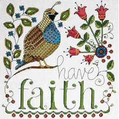 Have Faith Cross Stitch Kit