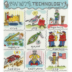 Dictionary Of Technology Cross Stitch Kit