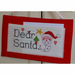Dear Santa Letter Hanging Cross Stitch Kit
