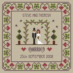 The Wedding Cross Stitch Kit