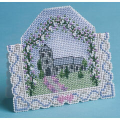 Wedding Day 3D Cross Stitch Card Kit