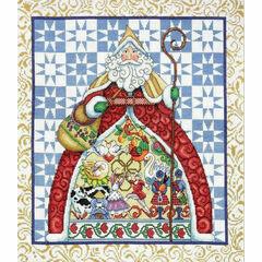 Jim Shore 12 Days Of Christmas Cross Stitch Kit