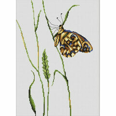 Spirit Of Summer Butterfly Cross Stitch Kit