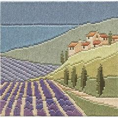 Lavender Fields Long Stitch Kit