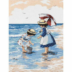 Gathering Shells Cross Stitch Kit