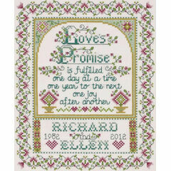 Love's Promise Cross Stitch Kit