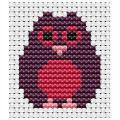 Easy Peasy Owl Cross Stitch Kit