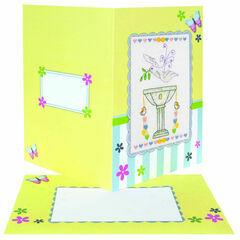 Christening Card Cross Stitch Kit
