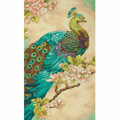 Indian Peacock Cross Stitch Kit