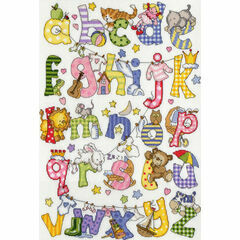 My First Alphabet Cross Stitch Kit