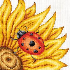 The Ladybird Cross Stitch Kit