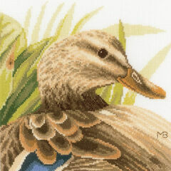 Mother Duck Cross Stitch Kit