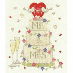 Wedding Congratulations Cross Stitch Kit