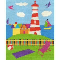 The Lighthouse Cross Stitch Kit