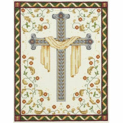 His Cross Counted Cross Stitch Kit
