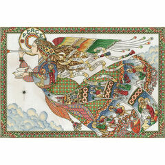 Peace Angel Cross Stitch Kit