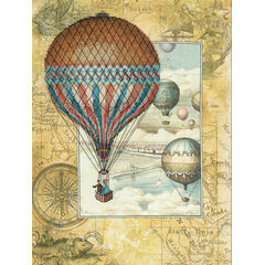 Around The World Embellished Cross Stitch Kit