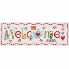Welcome Word Cross Stitch Kit