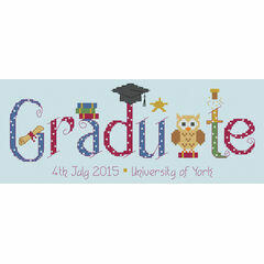 Graduate Cross Stitch Kit