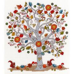 Love Autumn Cross Stitch Kit