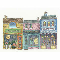 High Street Cross Stitch Kit