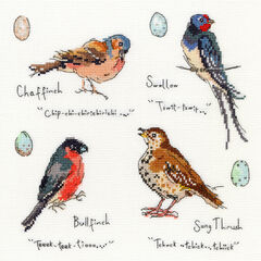 Garden Birds 3 Cross Stitch Kit