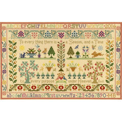 Season And Time Cross Stitch Kit