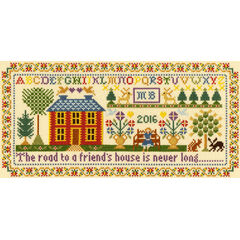 Friends House Cross Stitch Kit