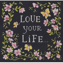 Love Your Life Cross Stitch Kit
