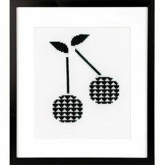 Cherry Cross Stitch Kit